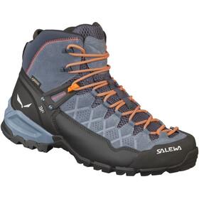 SALEWA Alp Trainer Mid GTX Hiking Shoes Men ombre blue/fluo orange